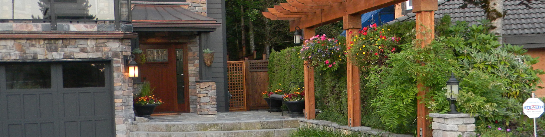 Landscape design and construction South Surrey, White Rock and Greater Vancouver